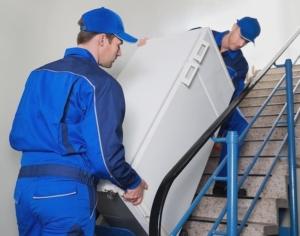 déménagement de frigo avec l'aide des déménageurs