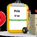 prix d'un déménagement