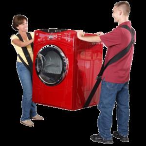 déménagement de machine à laver
